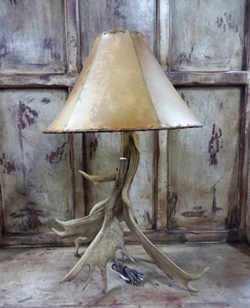 ANTLER LAMP - SHADE SOLD SEPARATELY