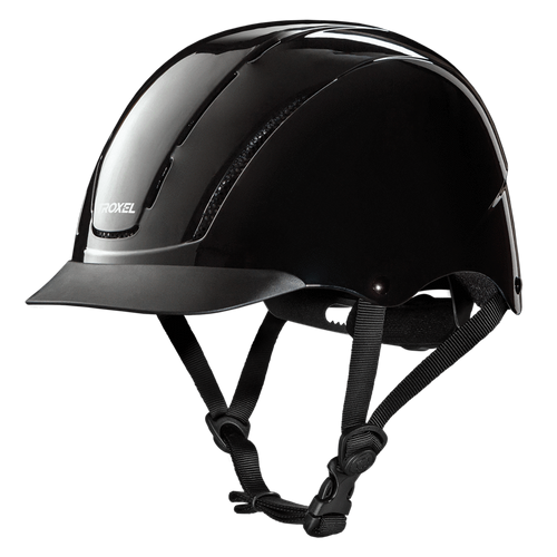 TROXEL BLACK SPIRIT RIDING HELMET