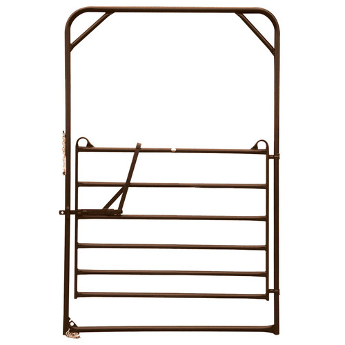 PRIEFERT UTILITY BOW GATE FROM DENNARDS - 6FT X 9FT