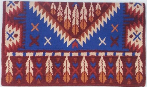 "GOOD MEDICINE ""REINMAKER"" SADDLE BLANKET FROM DENNARDS - 1311AB"