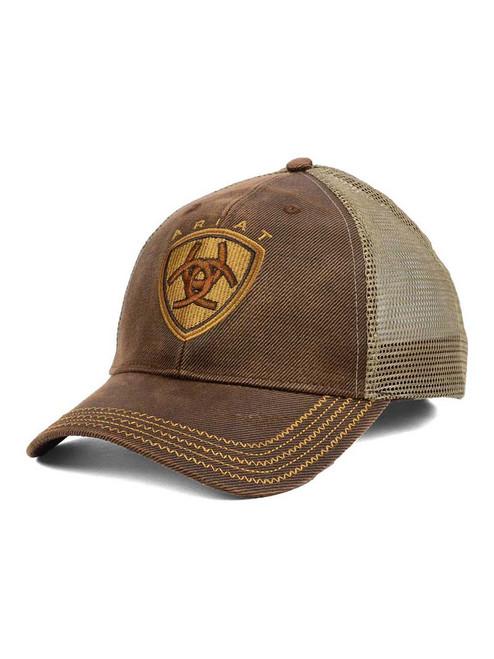 ARIAT OILSKIN MESH CAP