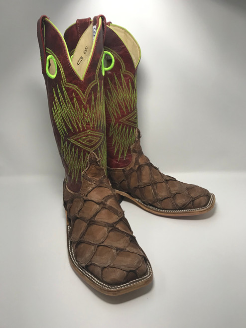 ANDERSON BEAN MATTE CIGAR RED BASS BOOTS