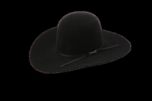 AMERICAN 7X 4.5 BRIM BLACK FELT