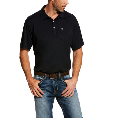 ARIAT FREEZE POINT POLO BLACK