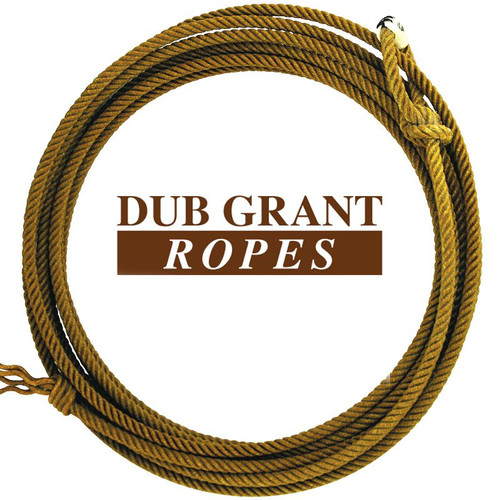 DUB GRANT GOLD POLY 4 STRAND CALF ROPE