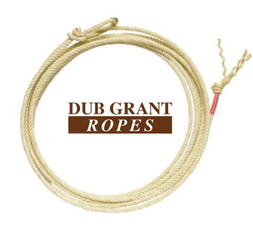 DUB GRANT OLD TYPE POLY 3 STRAND CALF ROPE