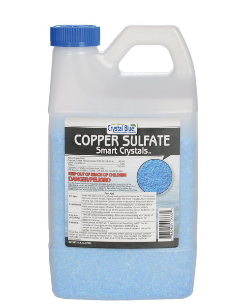 CRYSTAL BLUE COPPER SULFATE CRYSTALS 5LB