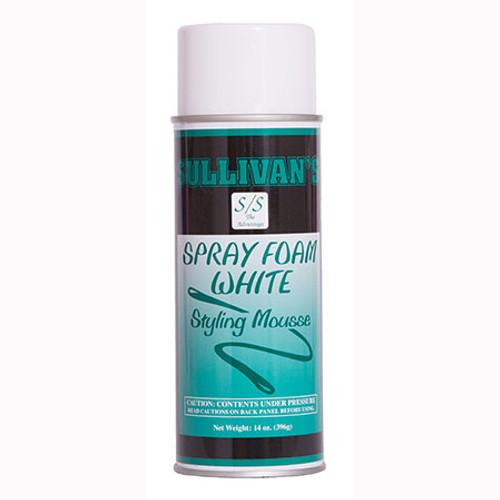 SPRAY FOAM WHITE MOUSSE