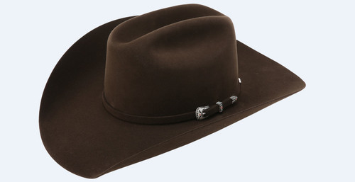 "AMERICAN 20X 5"" BRIM CHOCOLATE"