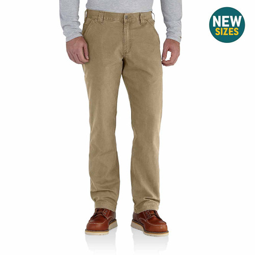 CARHARTT MENS RELAXED FIT RIGBY DUNGAREE WORK PANTS