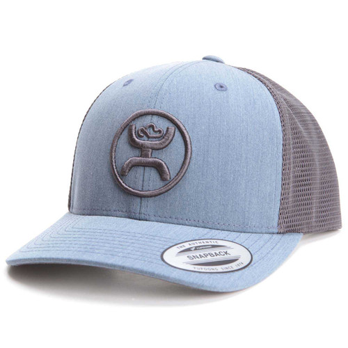 HOOEY 'CODY' OHL CLASSIC BLU/GRY SNAPBACK MESH CAP