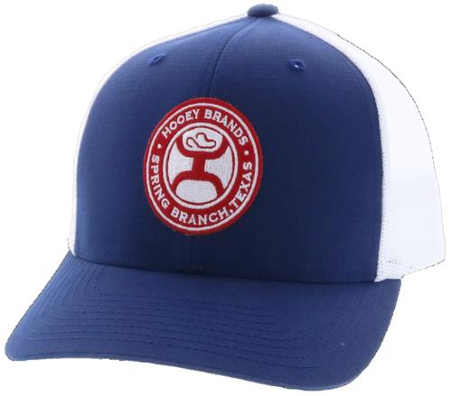 HOOEY 'EL CAMINO' BL/WHT  SNAPBACK CAP