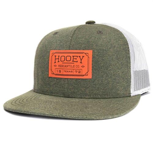 HOOEY 'DOC' OLIV/WHT SNAPBACK  MESH BACK