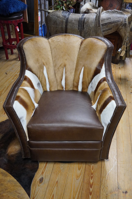 SPRINGBUCK PUMA SWIVEL CHAIR DARK BROWN