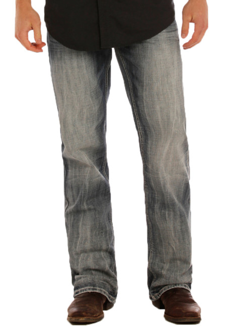 MENS DOUBLE BARREL RELAXED FIT STRAIGHT LEG