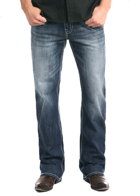 MENS RELAXED FIT REFLEX STRAIGHT LEG DOUBLE BARREL