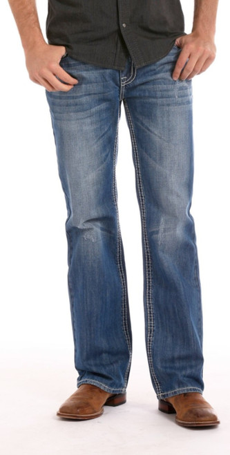 MENS RELAXED FIT STRAIGHT LEG DOUBLE BARREL