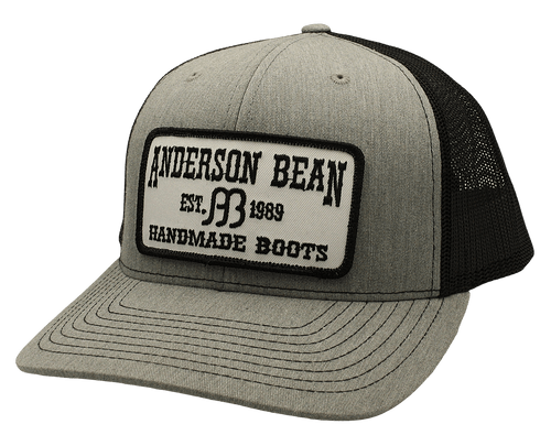 """RED DIRT HAT CO """"ANDERSON BEAN"""" HEATHER GREY/ BLACK CAP"""