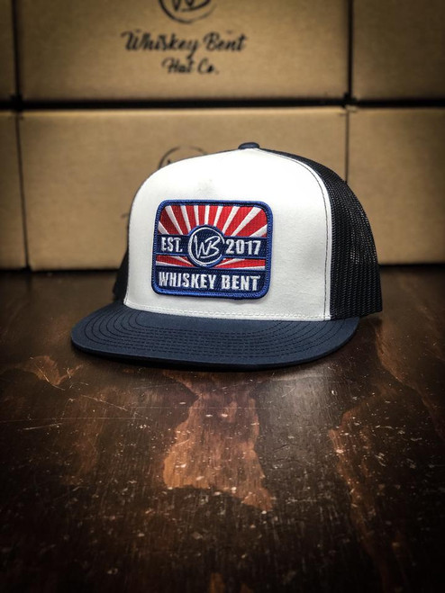 WHISKEY BENT HAT CO 'BEECH-NUT' NAVY/WHITE