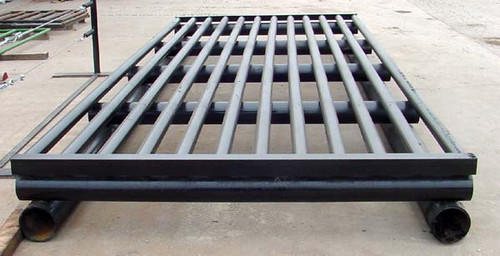 16 FT BLACK CATTLE GUARD