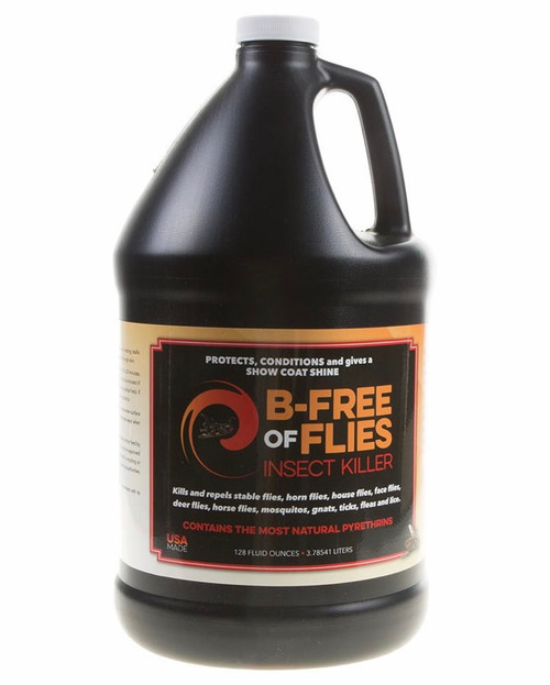 B-FREE OF FLIES FLY SPRAY GALLON
