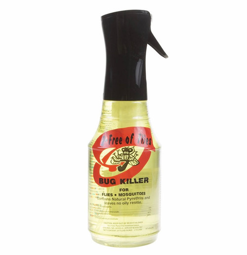 B-FREE OF FLIES FLY SPRAY 24 OZ