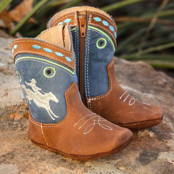 """SHEA BABY """"SYD"""" BUCKING HORSE INFANT BOOT"""