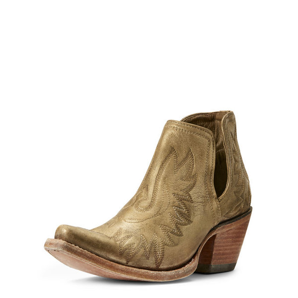 ARIAT DIXON WESTERN BOOT GOLD