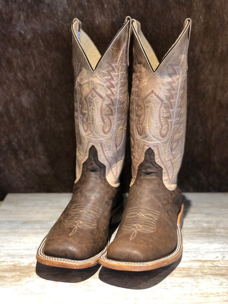 ANDERSON BEAN BROWN ZEBRA IVORY MAD DOG TOP BOOTS