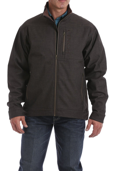 CINCH MEN'S BROWN CONCEALED CARRY BONDED JACKET