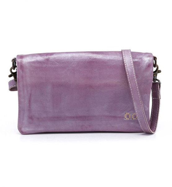 BED STU CADENCE METALLIC PURPLE CROSSBODY