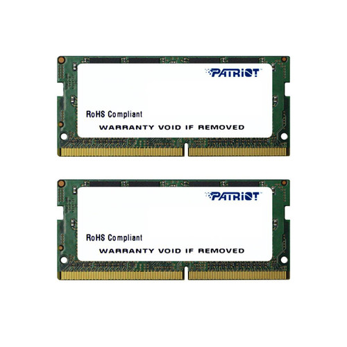 Patriot Signature Line 16GB (2x8GB) DDR4 2400mhz Laptop SoDimm RAM