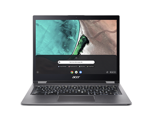 Acer Chromebook Spin, Intel Pentium 4417U, 4GB, 64GB eMMC, 13.5in Touchscreen Laptop