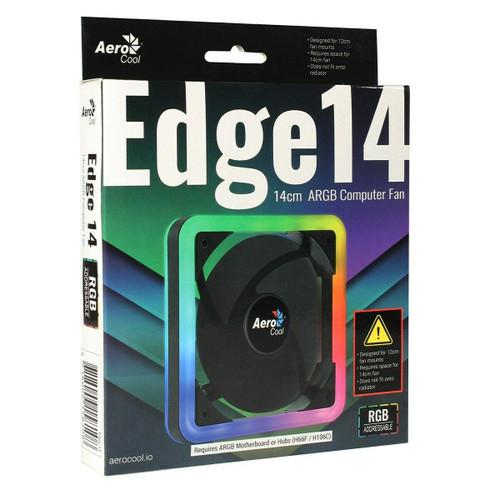 Aerocool Edge 14 14cm ARGB Computer Case Fan