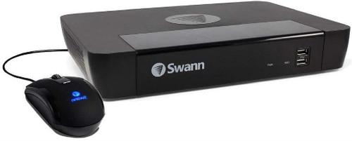 Swann NVR8-8580 8 Channel 4K Network NVR CCTV Recorder 2TB PoE