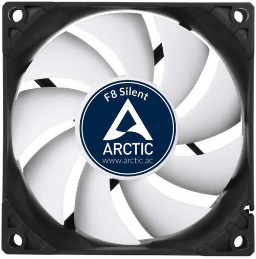 Arctic F8 Silent, Ultra-Quiet 80mm PC Case Cooling 3-pin