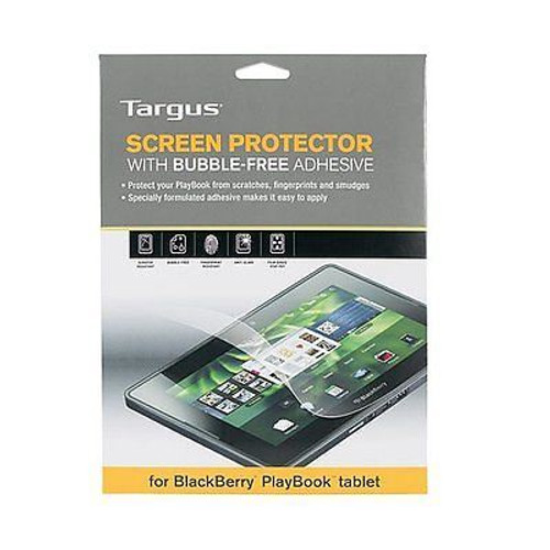 """Targus Blackberry Playbook LCD Screen Protector Bubble Free adhesive 7"""" Tablet"""
