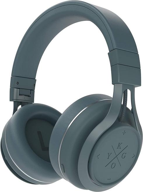 X By Kygo A9/600, Bluetooth 4.1, aptX, NFC, Over Ear Headphones - Storm Grey