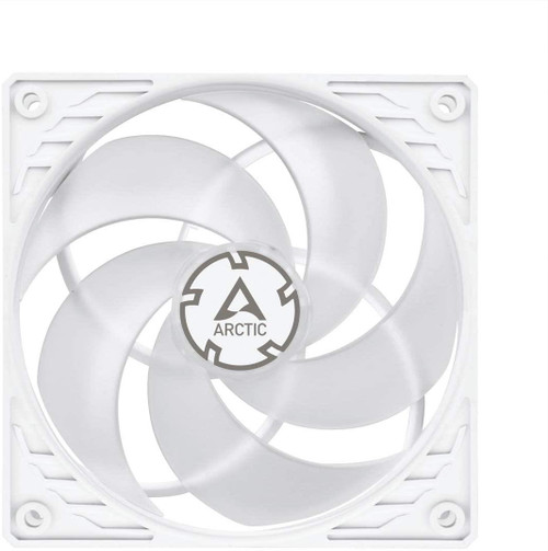 ARCTIC P12 PWM - Pressure-optimised 120 mm Fan with PWM - White/Transparent
