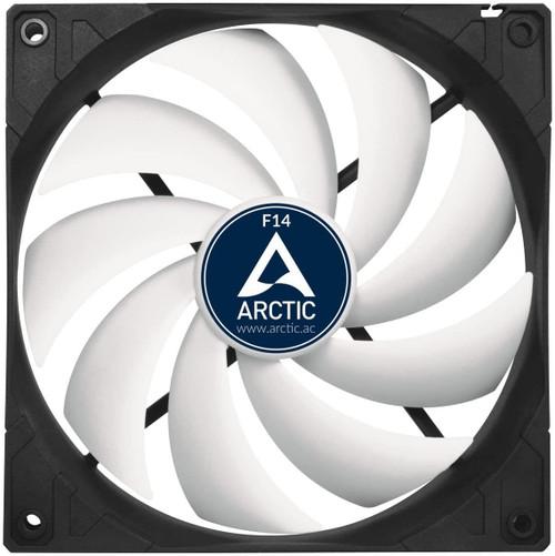 Arctic F14 - 140mm Computer Case Fan - 1350 RPM- Black/White