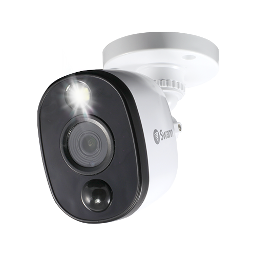 Swann PRO-1080MSFB - 1080p Thermal Sensing Warning Light Bullet Security Camera