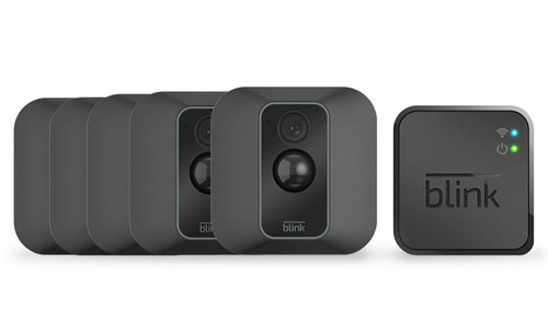 Blink XT2 Full HD (1080p) Smart WiFi Security Camera System - 5 Cameras