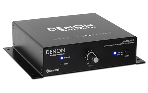 Denon DN-200AZB Professional Amplifier with Bluetooth Receiver - Black - UK