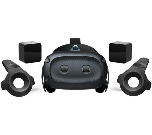HTC Vive Cosmos Elite VR Headset Kit With 2 Controllers & 2 Basestations