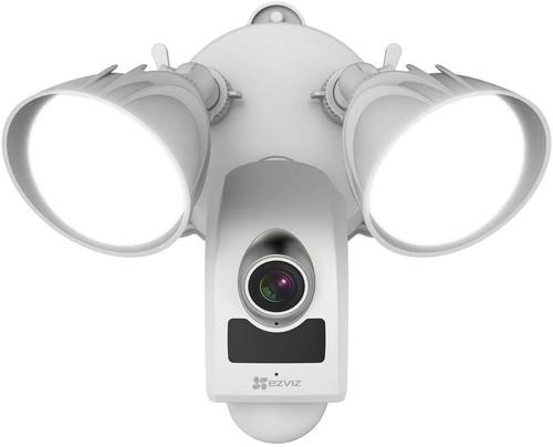Ezviz LC1 FHD Outdoor Floodlight Security Camera With Siren - White