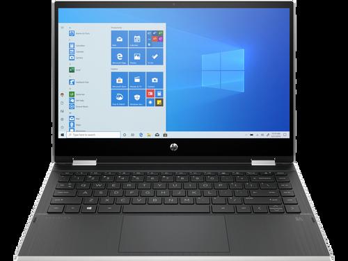 "HP Pavilion x360 14-dw0522na Core i3 1005G1 4GB 256GB 14"" Touch Laptop Silver"