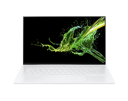 """Acer Swift 7, Intel Core i7 8500Y, 16GB, 512GB SSD, 14"""" Touch Laptop White"""