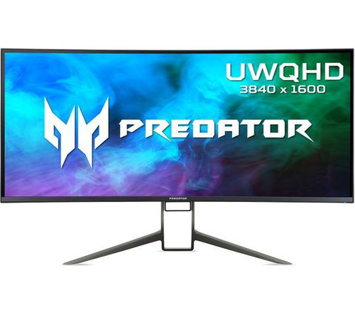 """Acer Predator X38P QHD (3840x1660) 144Hz 37.5"""" Curved IPS LCD Gaming Monitor"""
