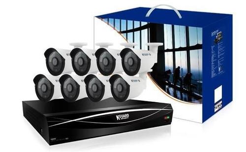 KGUARD 16 Channel HD 1TB Hybrid CCTV AHD DVR Kit with 8 x 720P Cameras