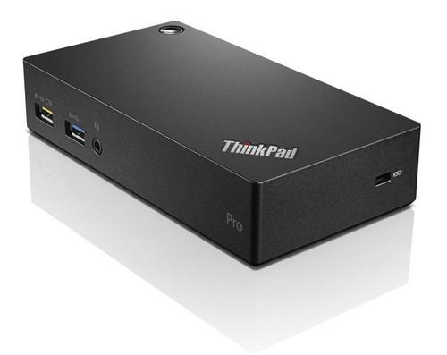 Lenovo ThinkPad USB 3.0 Pro Dock Port Replicator (40A70045UK)
